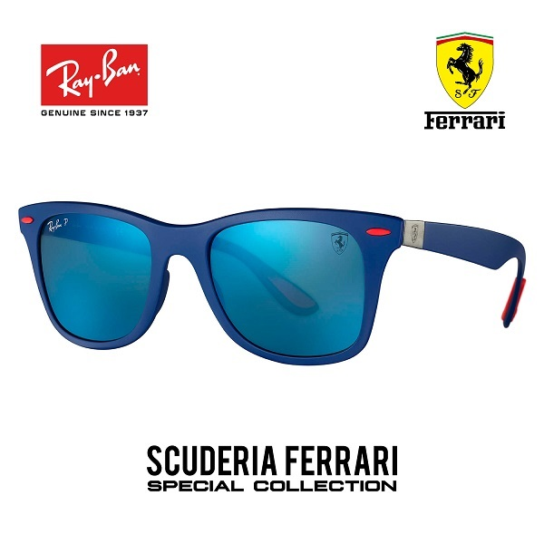 Wayfarer Ferrari Collection Azul – Polarizado