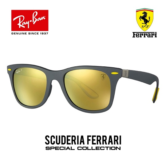 Wayfarer Liteforce Collection Ferrari Amarillo Polarizado