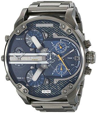 Diesel Diesel DZ7331 Sr. Daddy 2.0, reloj de acero inoxidable tono bronce